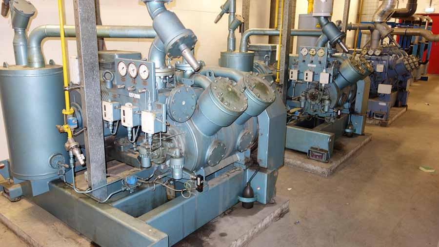 موتورخانه سردخانه صنعتی